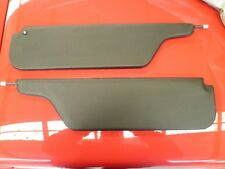 FORD XY GT NEW BLACK SUNVISORS MINT SUIT XW ZC ZD XR XT GS FAIRLANE PERFORATED!