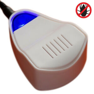 Dust Mite Controller Ultrasonic Repeller Reduce Asthma Allergies Allergy Eczema
