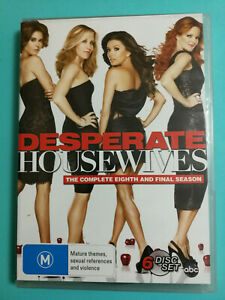 Desperate Housewives Complete Eighth Season 6 set DVD Rated M R4 Good condition