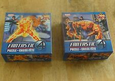 Fantastic Four 2005 Movie Puzzles (100 pieces)  (Set of 2) New in Box. Unopened
