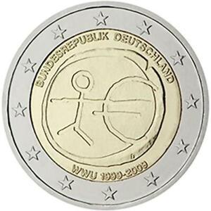 Germania 2009 Monnaie : D Emu Dixième Anniversaire Union Economique Et Monétaire