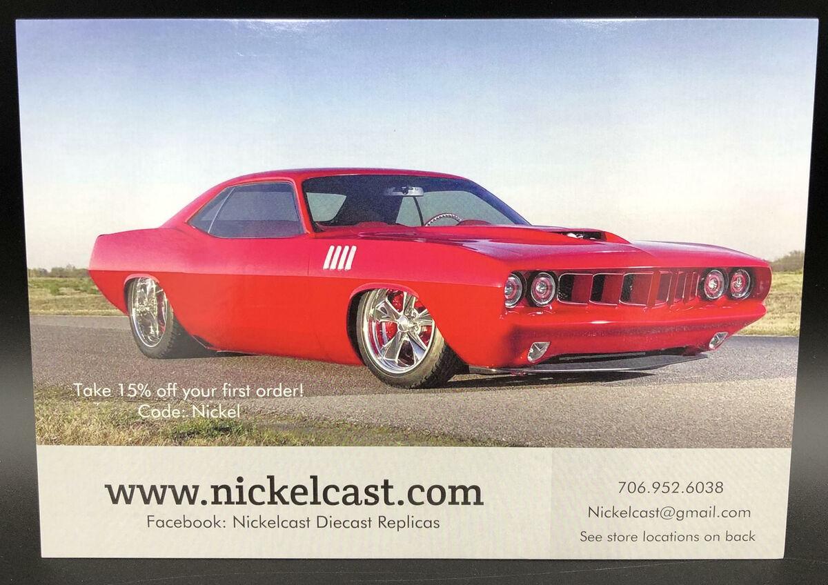 Nickelcast Diecast Replicas