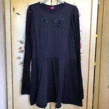 Save The Queen Black Dress Italian Size XXL