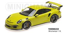 MINICHAMPS 155066222 - PORSCHE 911 GT3 RS (991) – 2015 – vert clair L.E.1002