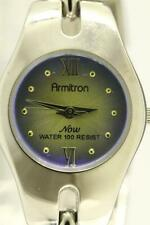 Modern Costume Jewelry ARMITRON Now Ladies Watch Y121E Iridescent Purple Face