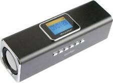 Mini Lautsprecher Technaxx MusicMan MA Display Soundstation AUX, FM Radio, SD, U