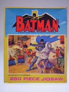 "GSCOM ""BATMAN JIGSAW NO.406"" PERIODICAL PUBL.1966, 23x19cm ,VERY GOOD 1005"