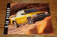 Original 2003 Chevrolet Trucks S-10 Pickup Sales Brochure 03 Chevy