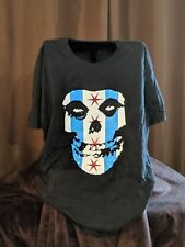 Misfits Shirt Chicago Flag Riot Fest 2016 Black softfeel shirt XL