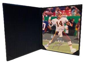 Brad Johnson Signed Washington Redskins 8x10 Photo Upper Deck