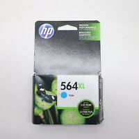 HP 564XL Cyan Ink Cartridge CB323WN Genuine New