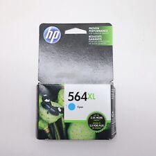 HP 564XL Cyan Ink Cartridge CB323WN Genuine New