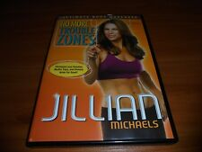 Jillian Michaels - No More Trouble Zones (DVD, Full Frame 2009) Used