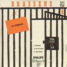 CD single Card sleeve Georges BRASSENS Le gorille 4-track ep