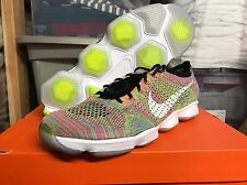 Nike Flyknit Zoom Agility MULTICOLOR - Sz 10.5M 12W DS - Racer Trainer HTM