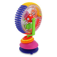 Sassy Wonder Wheel Toy for Newborn Baby Infant Toddler Primary Color Learn Fun