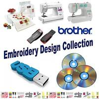 Brother Baby Lock PES USB Flash Drive with 150,000 Machine Embroidery Designs