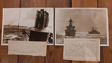 Pressefoto's Torpedoboote gegen England, Kriegsmarine, schiffe
