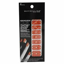 Maybelline Color Show Fashion Prints ~ 30 Wild Reptile 18 Nail Stickers