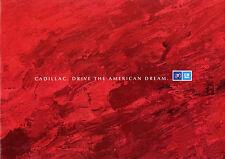 Prospekt Cadillac 1992 D Fleetwood Eldorado Seville Autoprospekt brochure Auto