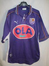 Maillot TOULOUSE F.C 1999 2000 PUMA vintage shirt camiseta trikot signé dédicacé
