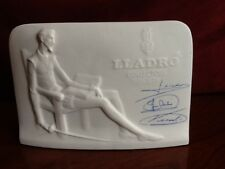 lladro Display Sign Don Quixote Unusual Numbered w/ Blue Ink