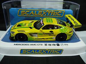 Scalextric C4075 1:32 Mercedes-AMG GT3 Bathurst 12 Hrs 2019 Gruppe M Racing