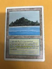 MTG Tropical Island, Revised, Played