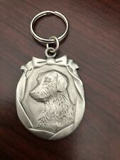 New listing Dog Key Chain Pewter Color Brand New Without Tags Nice Stocking Stuffer