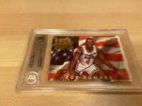 Joe Dumars Team USA Pistons Autographed Signed Beckett BAS Slabbed Card COA
