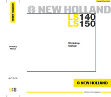 New Holland Skid Steer LS140, LS150 Workshop Manual