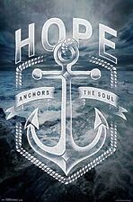 HOPE ANCHORS THE SOUL - INSPIRATIONAL POSTER - 22x34 - 14563