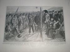 Duke of Cornwall KGV Calgary Canada meet Blackfoot indians 1901 print my ref T