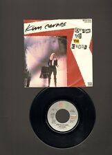 """KIM CARNES Draw of the Cards SINGLE 7"""" Break the Rules Tonite 1981"""