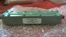 Trilithic Inc RF Microwave Custom Cavity Bandpass Filter 4CC4700/20-3-KK