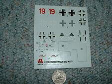 Italeri Decals 1/72 Focke Wulf 190-A8/F Jj