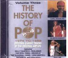 History Of Pop Carl Douglas Gladys Knight Dollar Nazareth Cd Sealed Sigillato