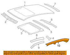 TOYOTA OEM 15-17 Camry Roof-Outer Rail Right 6121306140