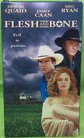 FLESH AND BONE VHS 1994 Dennis Quaid James Caan Meg Ryan Thriller