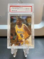 1996-97 NBA Hoops Sheets Kobe Bryant Rookie #281 PSA 8 NM-MT RC🔥🔥