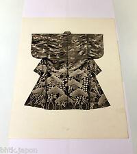 Photogravure kimono papier épais - Tirage de 1940 - 17