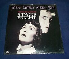STAGE FRIGHT - FS Laserdisc - Hitchcock