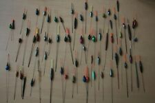 67 POLE FLOATS FISHING TACKLE JOBLOT