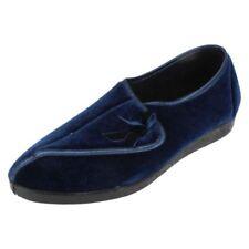 Sandalias y chanclas de mujer textil de color principal azul