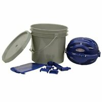 Rotary Sifter Kit Bucket Clean Tumbler Brass Media Separator Reloading Casings