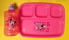Disney Sweet Cutie Minnie Mouse Plates & Cup Set