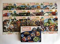 Marvel Avengers Childrens Books Phonics Learn to Read Gift Set Lot 12