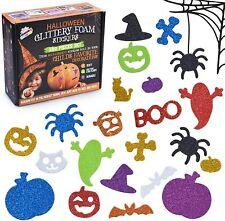 500 Pcs Cute Halloween Shape Stickers for Kids Assorted Puffy Foam Stickers