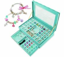 Chad Valley BE U DELUXE JEWELLERY BOX set  Girls Make Your Own Charm Bracelet