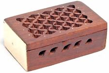 Rosewood Storage Box for Amber Resin Incense Chunks